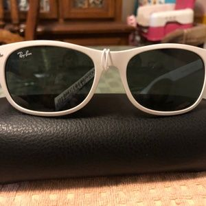 Ray-ban Liteforce White Sunglasses NWT